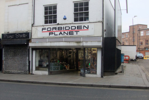 forbidden planet uk