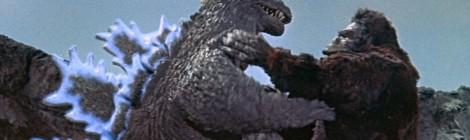 Drie monsters van fouten in Godzilla